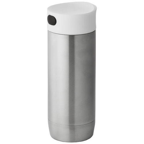 Valby 400 ml leak-proof vacuum insulated tumbler in silver