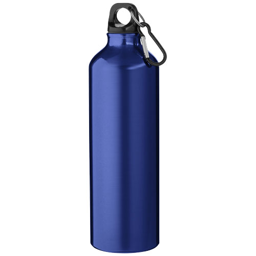 Pacific 770 ml sport bottle with carabiner in blue