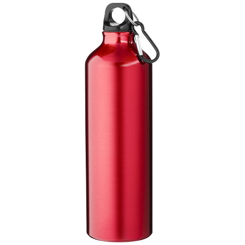 Pacific 770 ml sport bottle with carabiner in red
