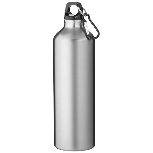Pacific 770 ml sport bottle with carabiner in silver