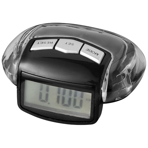 Stay-Fit pedometer in black-solid