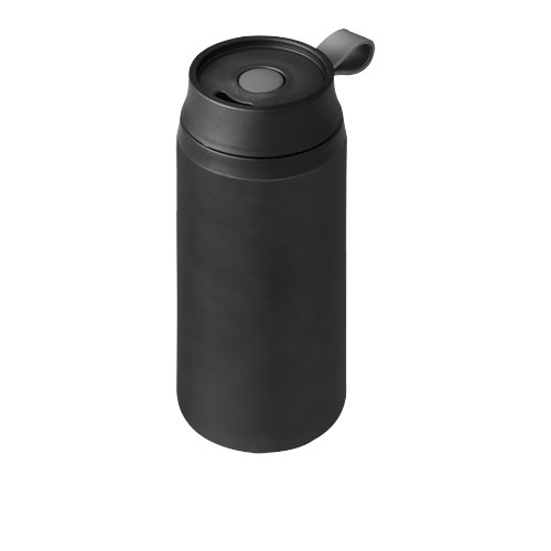 Flow 350 ml foam insulated tumbler in black-solid