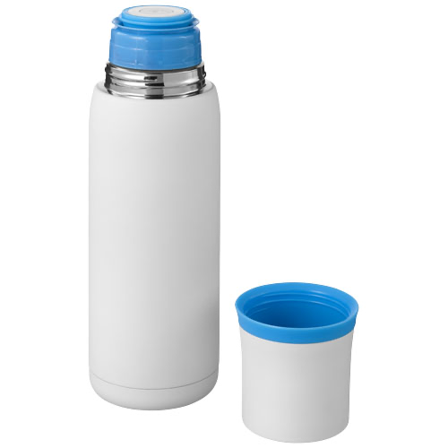 Flow vacuum insulated flask in