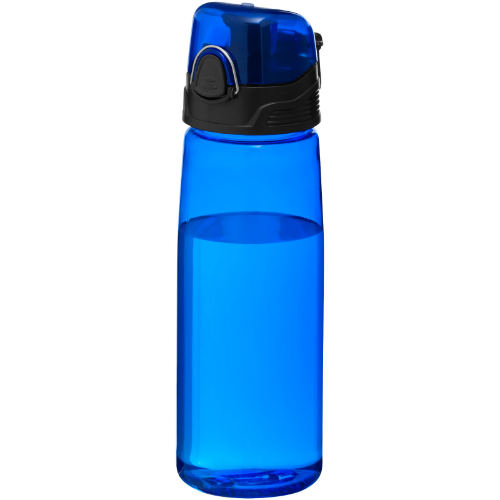Capri 700 ml sport bottle in transparent-red