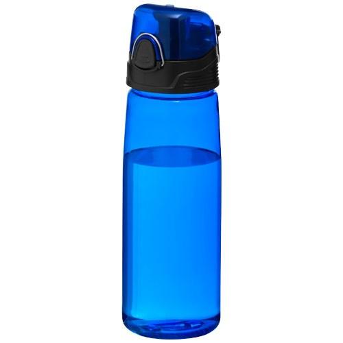 Capri 700 ml sport bottle in transparent-blue