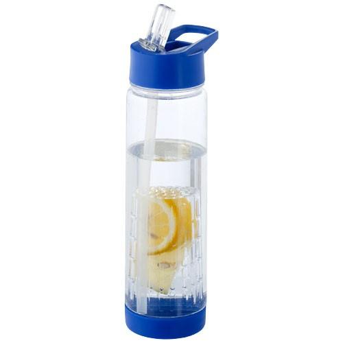 Tutti-frutti 740 ml Tritan? infuser sport bottle in yellow-and-transparent