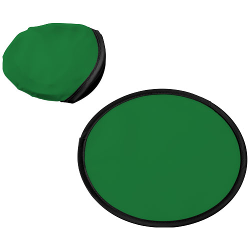 Florida frisbee with pouch in green