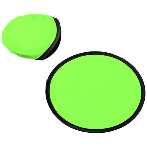 Florida frisbee with pouch in lime