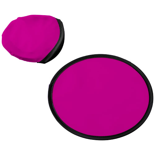 Florida frisbee with pouch in magenta