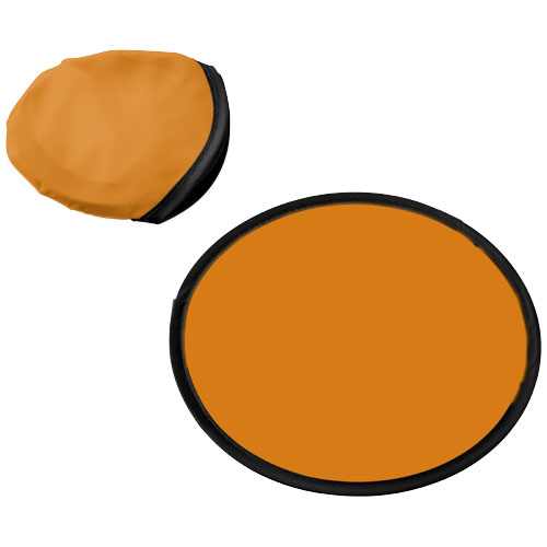 Florida frisbee with pouch in orange