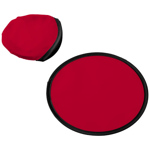 Florida frisbee with pouch in red