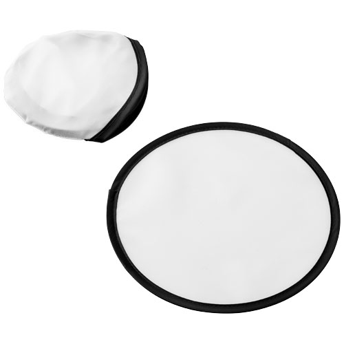 Florida frisbee with pouch in white-solid