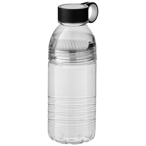 Slice 600 ml Tritan? sport bottle in transparent-and-white-solid