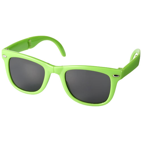 Sun Ray foldable sunglasses in lime