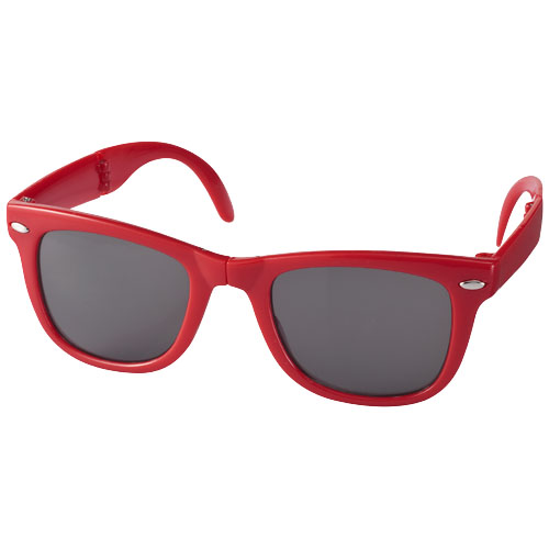 Sun Ray foldable sunglasses in red