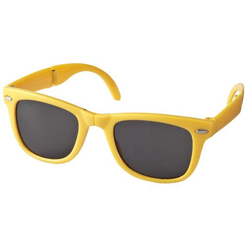 Sun Ray foldable sunglasses in yellow