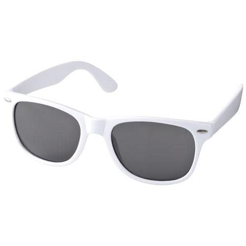 Sun Ray sunglasses in white-solid