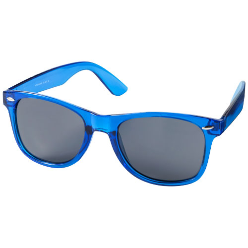 Sun Ray sunglasses with crystal frame in blue