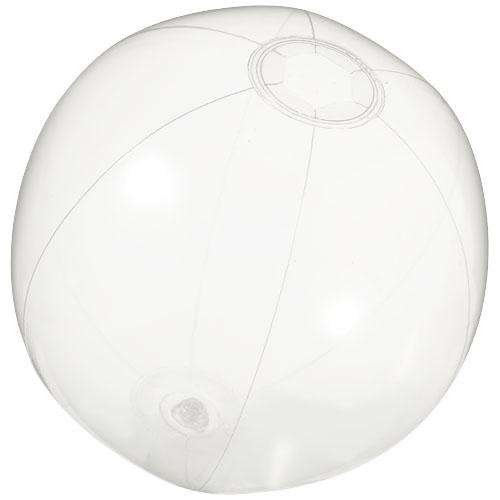 Ibiza transparent beach ball in transparent-clear