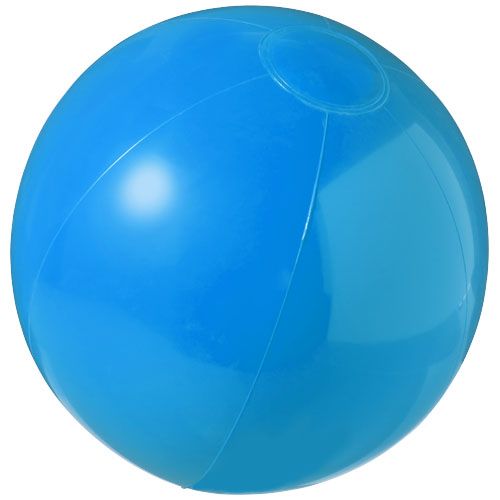 Bahamas solid beach ball in blue