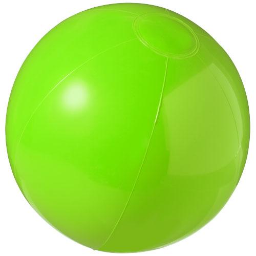 Bahamas solid beach ball in green