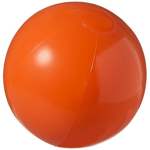 Bahamas solid beach ball in orange