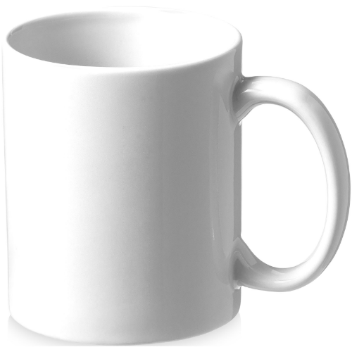 Pic 330 ml ceramic sublimation mug in white-solid