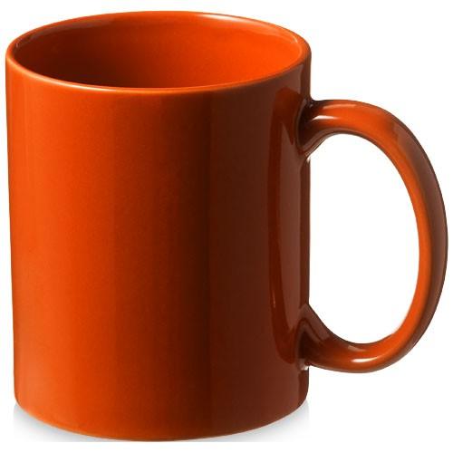 Santos 330 ml ceramic mug in orange