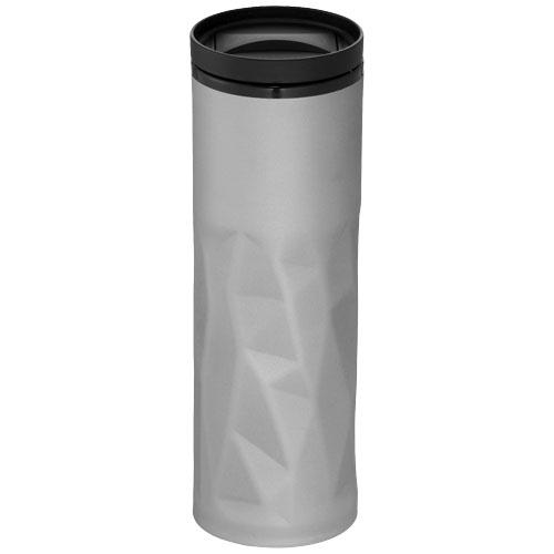 Torino 450 ml foam insulated tumbler in silver
