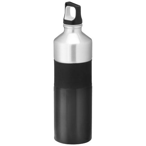 Nassau 750 ml sport bottle in black-solid