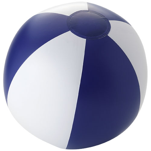Palma solid beach ball in blue-and-white-solid