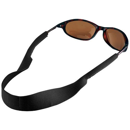 Tropics sunglasses neck strap in black-solid