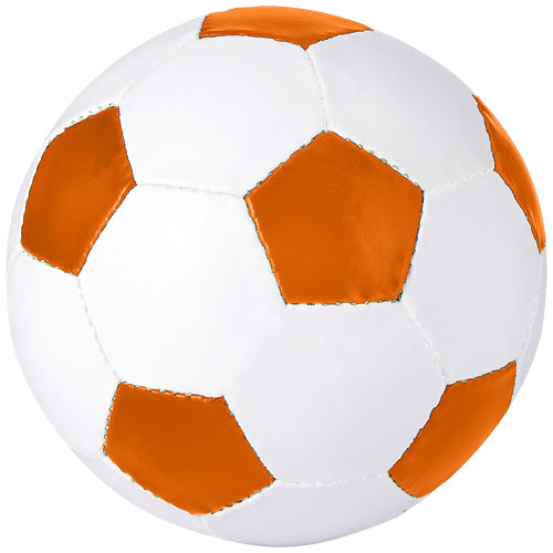 Curve football in orange