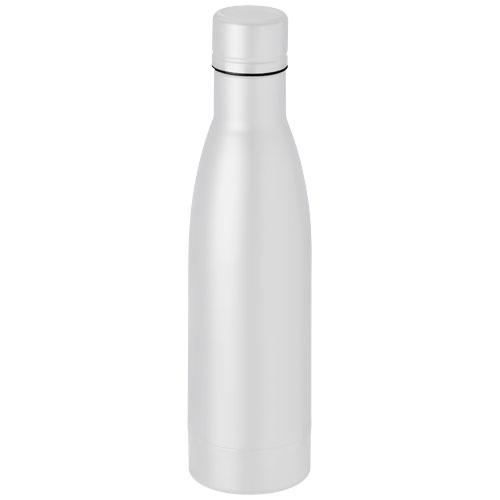 Vasa 500 ml copper vacuum insulated sport bottle in white-solid