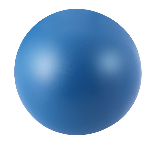 Cool round stress reliever in blue