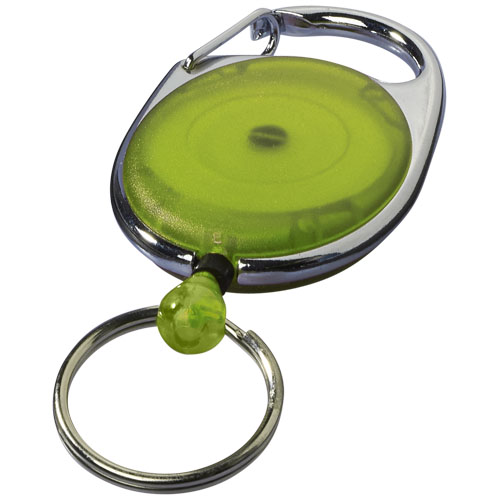 Gerlos roller clip keychain in lime