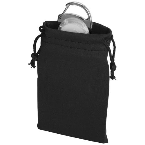 Castilla gift pouch in black-solid