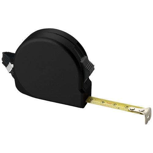 Clark 3 metre measuring tape in black-solid