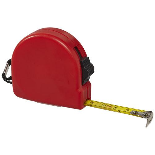 Clark 3 metre measuring tape in red