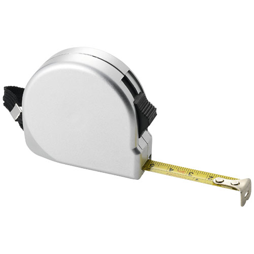 Clark 3 metre measuring tape in silver