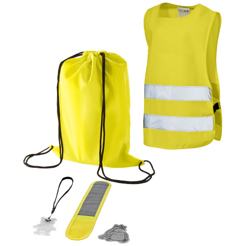 5 piece children safety set in yellow
