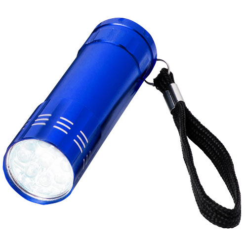 Leonis 9-LED torch light in blue