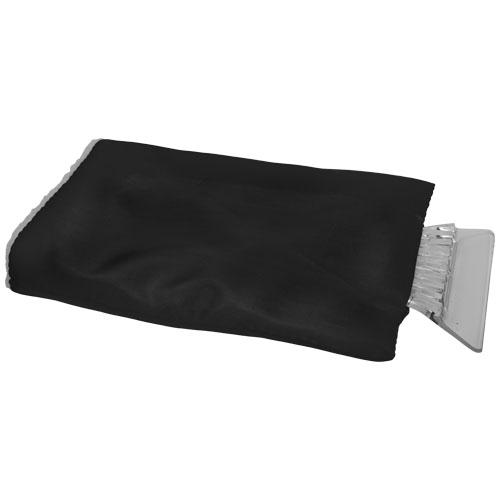 Colt ice scraper with glove in black-solid