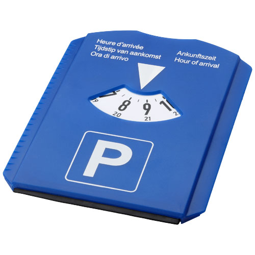 Spot 5-in-1 parking disc in blue