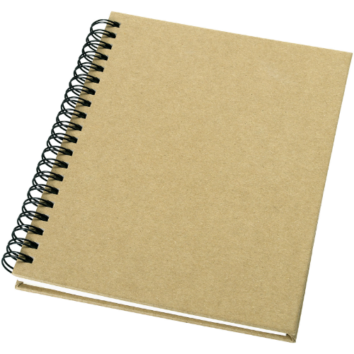 Mendel recycled notebook in natural