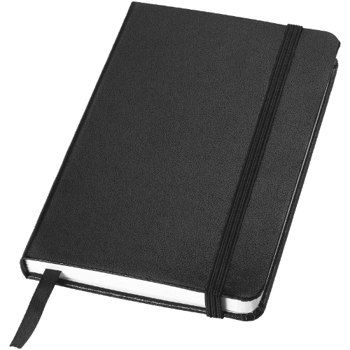 Classic A6 hard cover pocket notebook in yellow