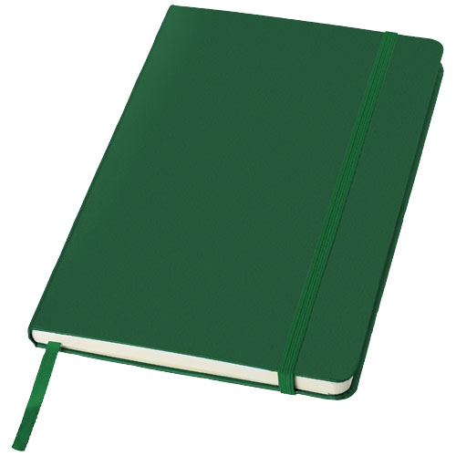 Classic A5 hard cover notebook in green