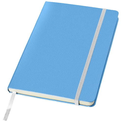Classic A5 hard cover notebook in light-blue