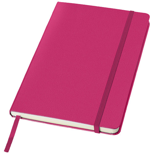 Classic A5 hard cover notebook in pink