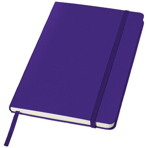 Classic A5 hard cover notebook in purple